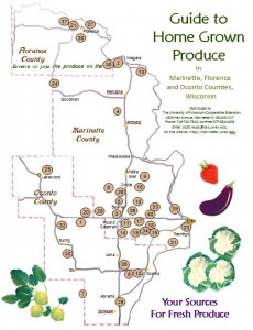 2013 Produce Guide map